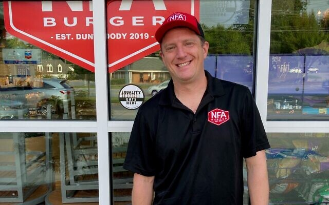 Billy Kramer, who began Equality Lives Here, is the owner of @BillysBurgers pop-ups and NFA Burger, which opened its first permanent location in Dunwoody in December.