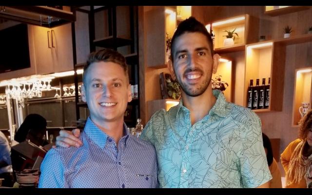 Partners Adam Berlin and Juan Calle met at North Springs High School