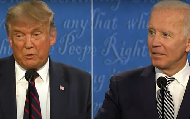 President Donald Trump and former vice president Joe Biden spent much of the night trading barbs during the debate.