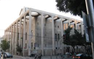 The Great Synagogue of Tel Aviv is just one of some 450 synagogues in the municipality.