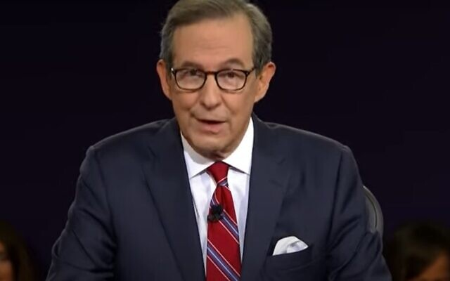 Moderator Chris Wallace tried to maintain order in the heated first presidential debate in Cleveland.