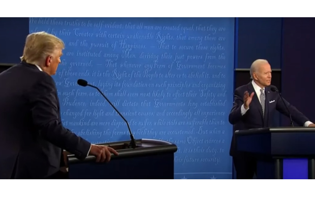 The first presidential debate between Trump and Biden was marked by heated, aggressive barbs that often resulted in the candidates speaking over each other.
