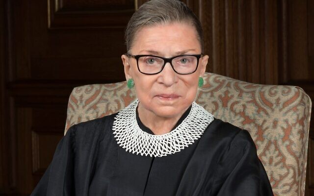 U.S. Supreme Court Justice and equal rights champion Ruth Bader Ginsburg who died on Sept. 18.