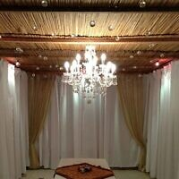 Chana Shapiro was impressed by the crystal chandeliers that hung from an elegant Brooklyn sukkah.