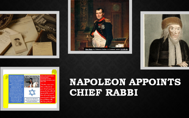 In 1789, Napoleon guaranteed religious freedom, freeing the Jews of France and then appointing a chief rabbi.