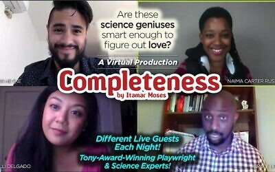 """""""Completeness"""" asks some important questions about the limitations of science in human relationships."""