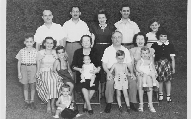 Siegel family photo from 1948.