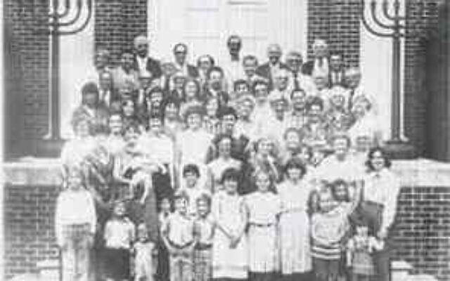 The Goldring/Woldenberg Institute of Southern Jewish Life // Temple Beth-El in Dalton celebrates its 40th anniversary in 1980. Earlier in the synagogue's history African American women served as kosher cooks for events held in its social hall.