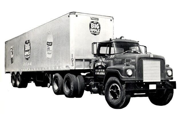 The Alterman trucks were well known on Atlanta streets.