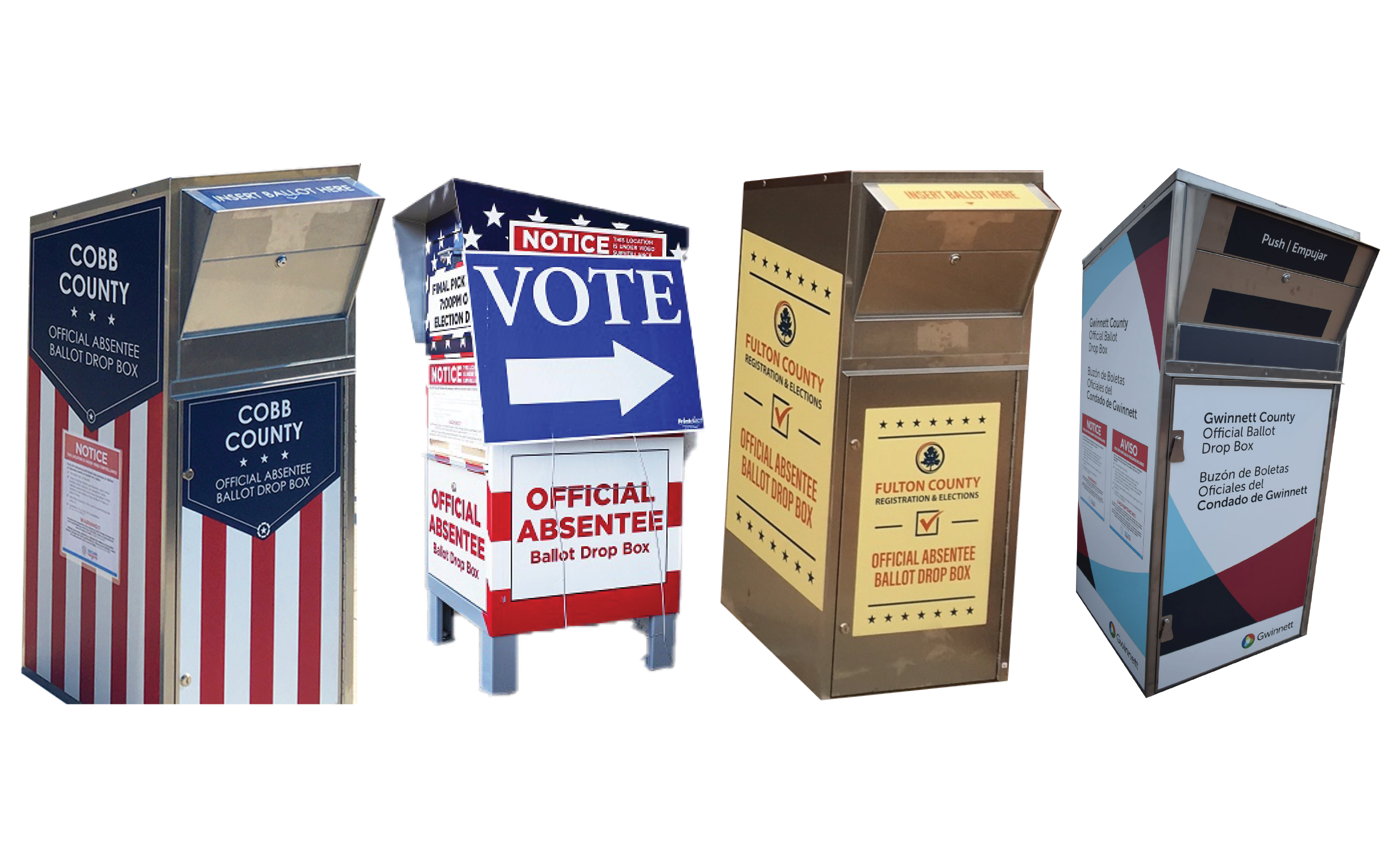 Directory Listing Of Official Absentee Ballot Box Locations Atlanta Jewish Times