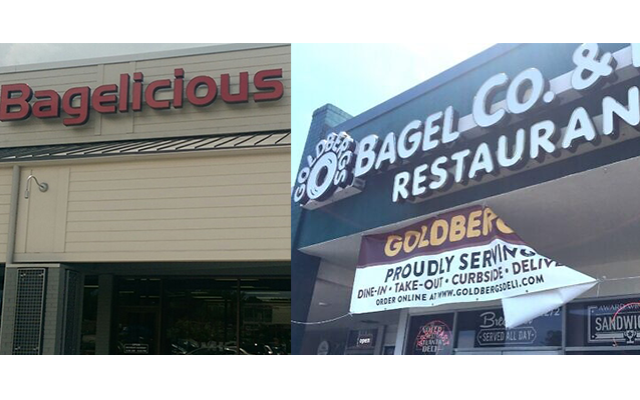 Some may argue that Jewish-style delis such as Golbergs and Bagelicious try to capture the Snack 'N Shop neighborhood feel.