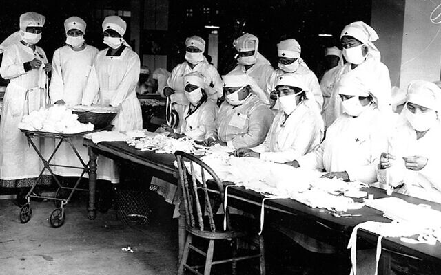 Centers for Disease Control and Prevention // The Boston Red Cross during the pandemic.