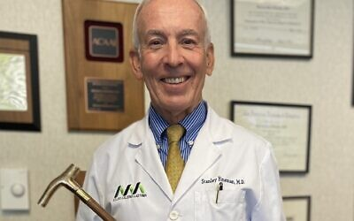Dr. Stanley Fineman wins prestigious national medical association award.
