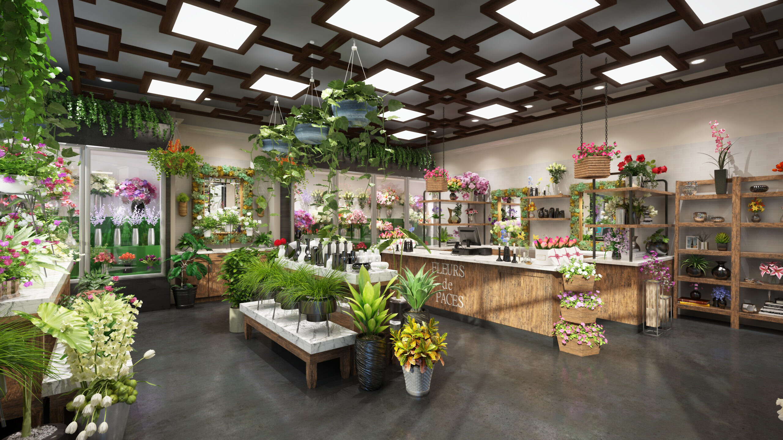 Residents will have access to an on-site fresh flower shop.