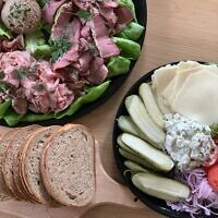 The General Muir offers a considerable selection of traditional Jewish deli items as part of its catering operation.