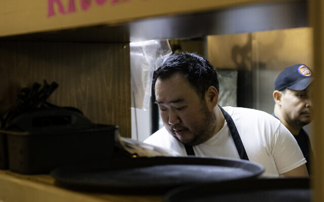 Chef Jae Choi practices optometry three days a week and runs the restaurant on other days.