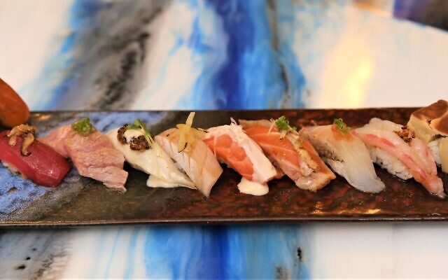 Artistically prepared and clean-tasting nigiri speaks for itself.