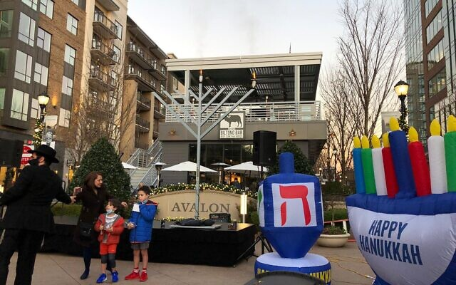 Chabad of North Fulton held a menorah lighting at Avalon, a menorah car parade, a Chanukah program at Newtown Park and a teen Chanukah event.