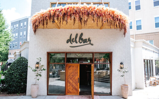 Delbar is set up for colder weather with heaters, extended seating and covered patio.