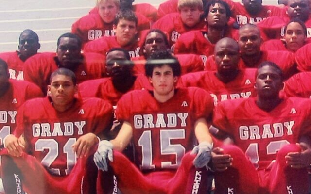 """Tai Cohen, 2007, who lettered in soccer and football, said that he's proud of Grady, but if the name represents social injustice, """"then by all means, do the name change."""""""