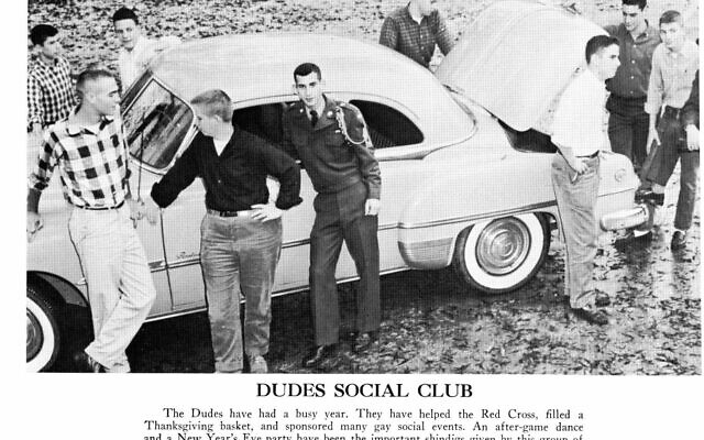 The Dudes social club included many Jewish members.