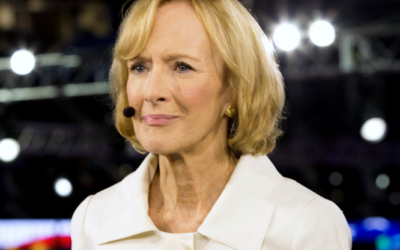 Judy Woodruff, anchor of PBS NewsHour began her long career in Atlanta.