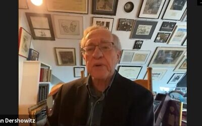 Professor Alan Dershowitz discusses the Georgia Senate Election Run-off with the AJT.