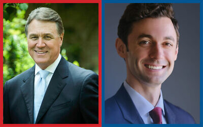 Democrat Jon Ossoff will face off against Sen. David Perdue in the Jan. 5 election.