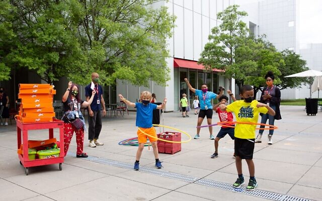 The High Museum of Art hosted its own summer camp