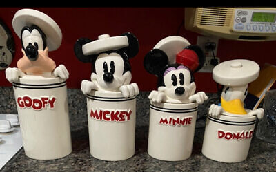 This Disney canister set makes baking more fun.