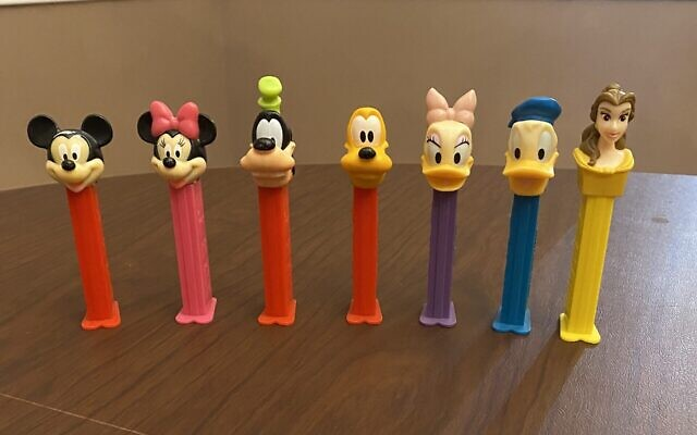 Belle joins the iconic Disney character in Solomon's PEZ collection