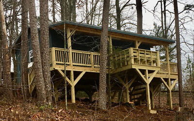 The Den at Camp Barney Medintz will provide a soothing space for campers.