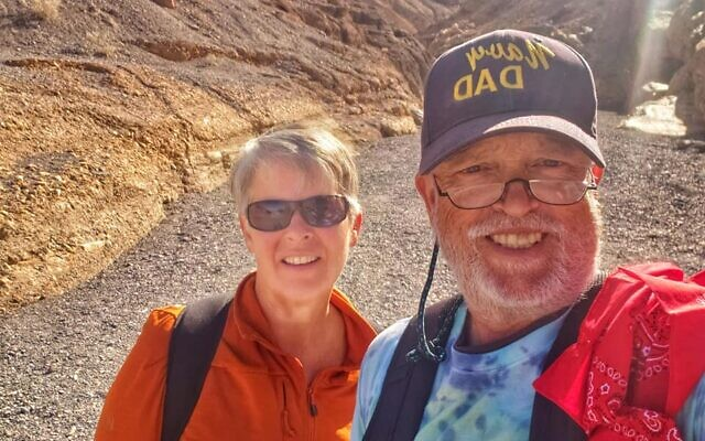 The Shaws at Mosaic Canyon in Death Valley National Park in Californi