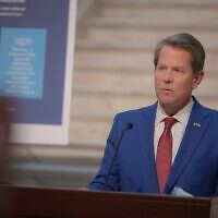 """There will be more demand for the vaccine than the state has supply,"" Gov. Brian Kemp said. ""I continue to ask Georgians for their patience."""