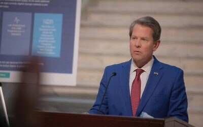 """""""There will be more demand for the vaccine than the state has supply,"""" Gov. Brian Kemp said. """"I continue to ask Georgians for their patience."""""""