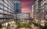 The Sky Plaza is one of the amenities of the Selig property at 1105 West Peachtree.