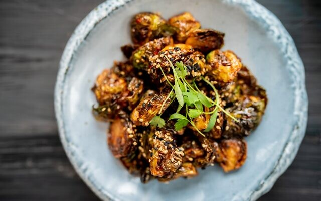 "The ""From the Kitchen"" section of Monkey 68's menu includes dishes such as Korean meatballs, calimari tempura, kimchi fries, and big bang shrimp."