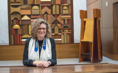 Cantorial Soloist Beth Schafer feels a deep loss in not being able to connect with her congregation personally at Passover.