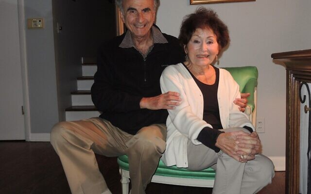 Perry and Shirley Brickman in 2018.