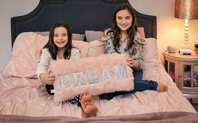 Photography by Duane Stork // Ashley and Taylor, Epstein School students, have ample space to DREAM.