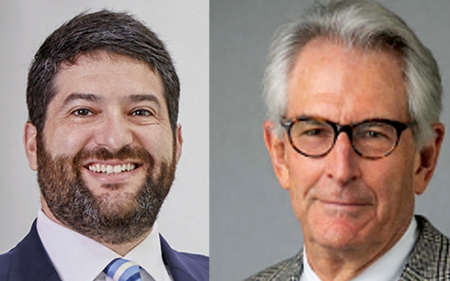 The ADL will recognize Scott Zweigel (left) and Walter Jospin at an awards ceremony next month.