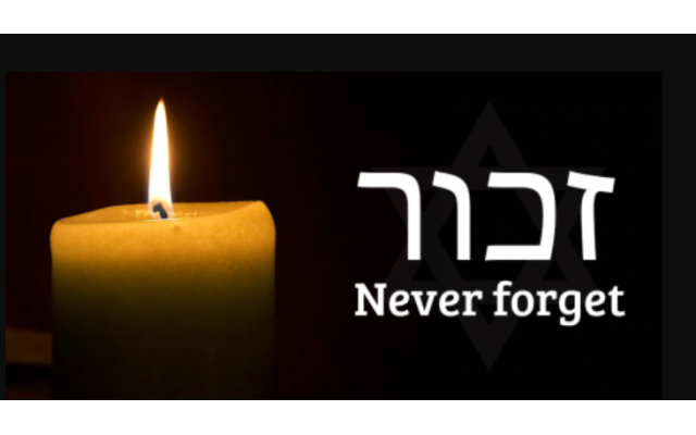 """Never Again"" has become an important reminder on Yom HaShoah, Holocaust Memorial Day."