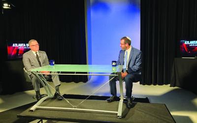 Dr. John Eaves interviewed Rabbi Ari Kaiman of Congregation Shearith Israel.