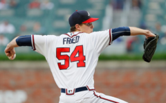 Photo by Kevin C. Cox/Getty Images // Max Fried pitches for the Atlanta Braves.