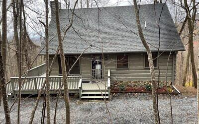 Mark and Robin Spiegel's cabin in Blue Ridge, Ga.