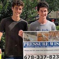 Alon Rogow and Josh Isaacs of Pressure Wish graduated Davis in 2018.