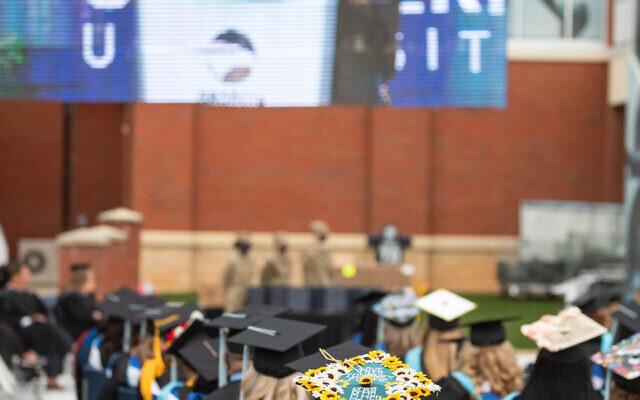 Graduation at Georgia Southern.