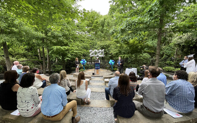 8th Grade Graduates from the Davis Academy at the Nature Sanctuary.