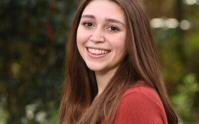 Kira Mermelstein,  Salutatorian at the Atlanta Jewish Academy