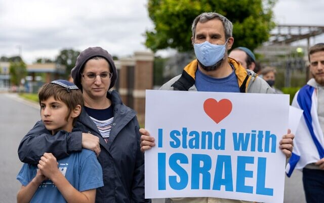 Photos by Nathan Posner for the AJT// Rally in Sandy Springs on May 12, 2021.